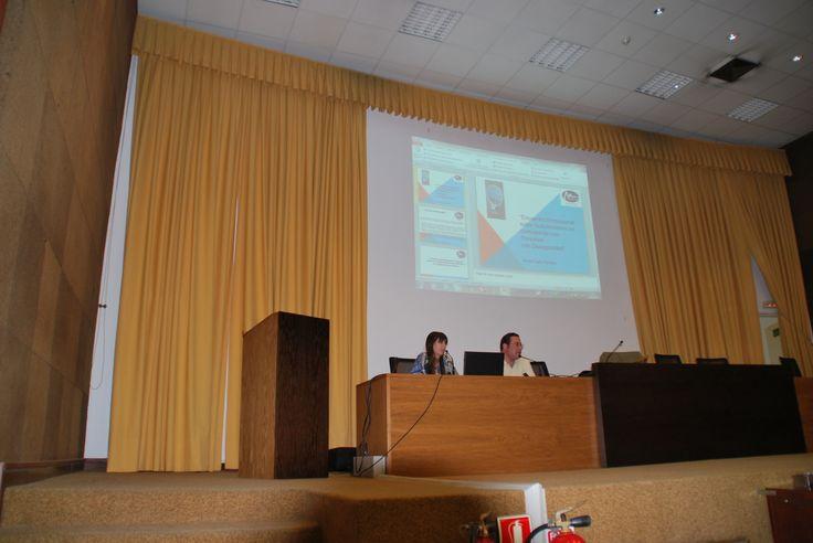 Conferencia sobre Discapacidad y Empleo en El Hospital Virgen Macarena, año 2014!!!