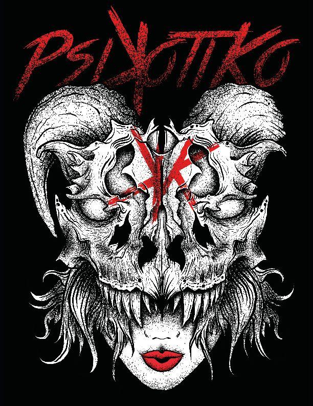 #Psikotiko, Skull, Dragon, Dia4