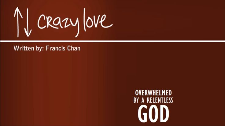 I read Crazy Love by Francis Chan last year and I can honestly say that it was a life changing read. Chan has a way of making you think about things in a very real way like you never would have bef…
