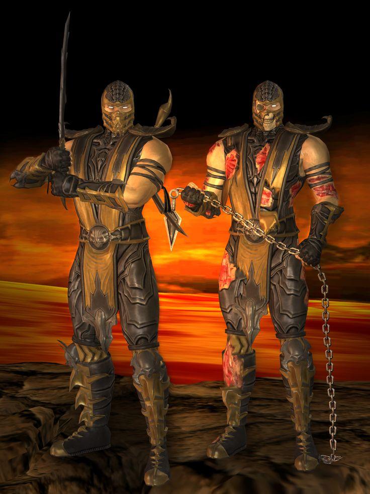 ... Scorpion Primary - Mortal Kombat 9 by romero1718