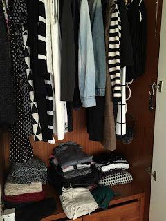 Destralhar roupa e sapatos com o método konmari - parte I