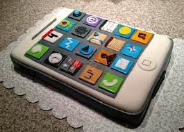 39 best Iphone cake images on Pinterest Iphone cake Decorating