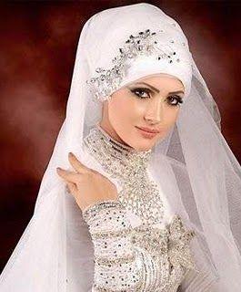 Bridal Hijab | Bridal hijab