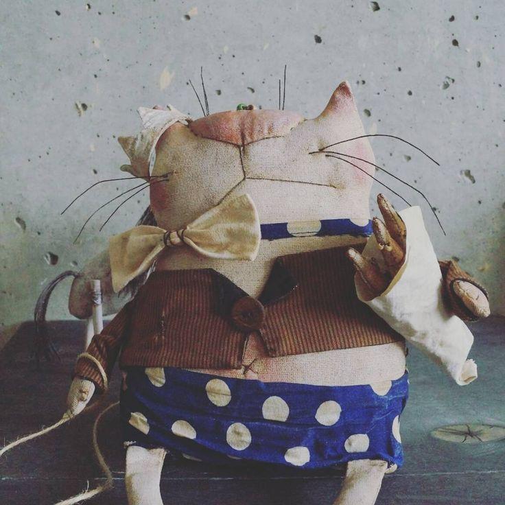 Мартовский кот #моинаивныепримитивы #наивноеискусство #примитив