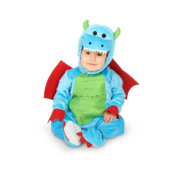 Halloween Mighty Tiny Dragon Infant Costume 18-24 Months, Infant Unisex, Size: 18-24 M, Multicolored