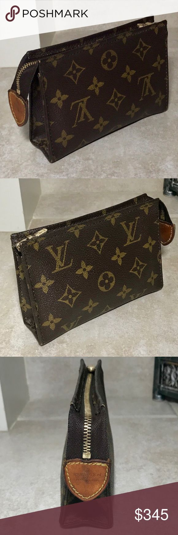 Louis Vuitton Poche Toilette 15 Cosmetic Pouch (With