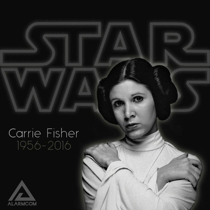 Star Wars'taki Prenses Leia rolüyle tanıdığımız başarılı oyuncu Carrie Fisher'ı kaybettik. Işıklar içinde uyu Carrie Fisher. #CarrieFisher #StarWars #yıldızsavaşları #maytheforcebewithyou #güçseninleolsun #RIP #prensesleia