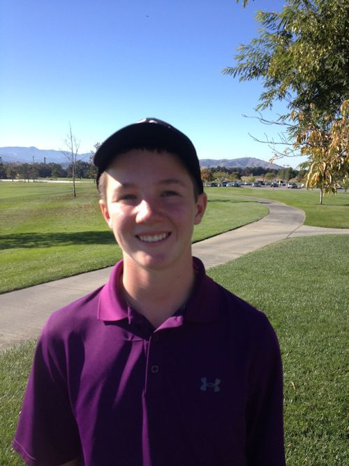 FCWT Junior Golf Tournament at Coyote Creek 2014: Connor Motherway