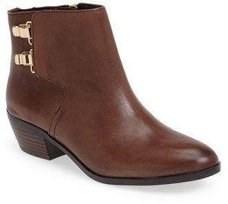 Sam Edelman 'Peter' Leather Bootie (Women) on shopstyle.com