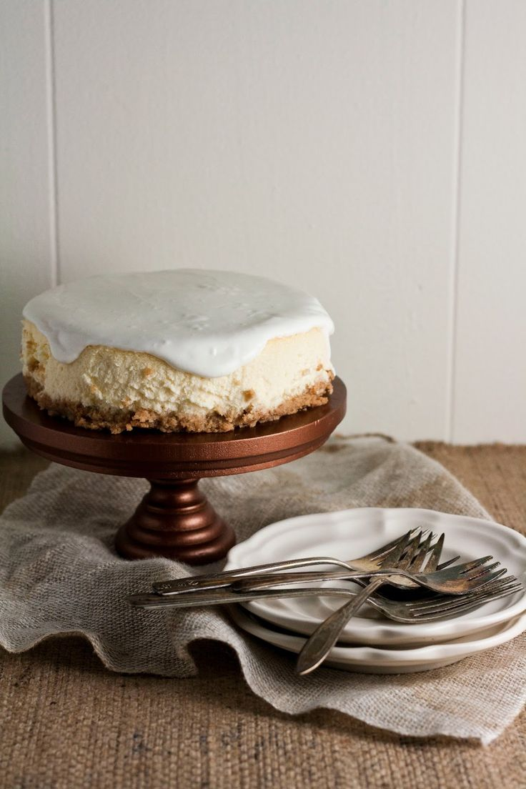 Miette's Miniature Cheesecake- 6-inches, perfect for two (or one, in my case lol)