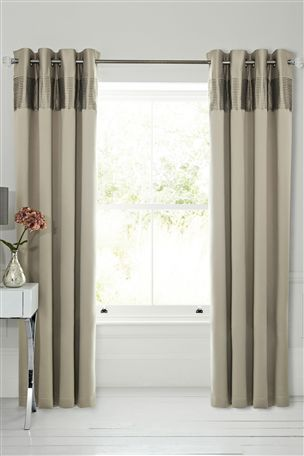 Buy Cotton Sateen Pleated Panel Bed Set from the Next UK online shop