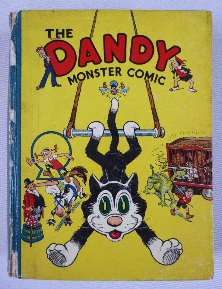 The Dandy Monster Comic - 1940