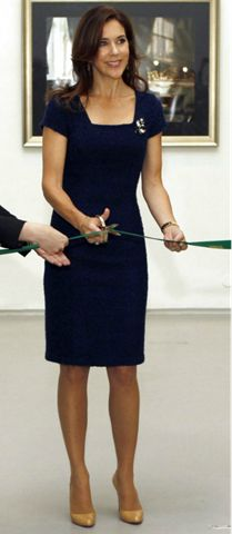 Royal tours —> 2012 - Russia  55/83 Crown Princess Mary