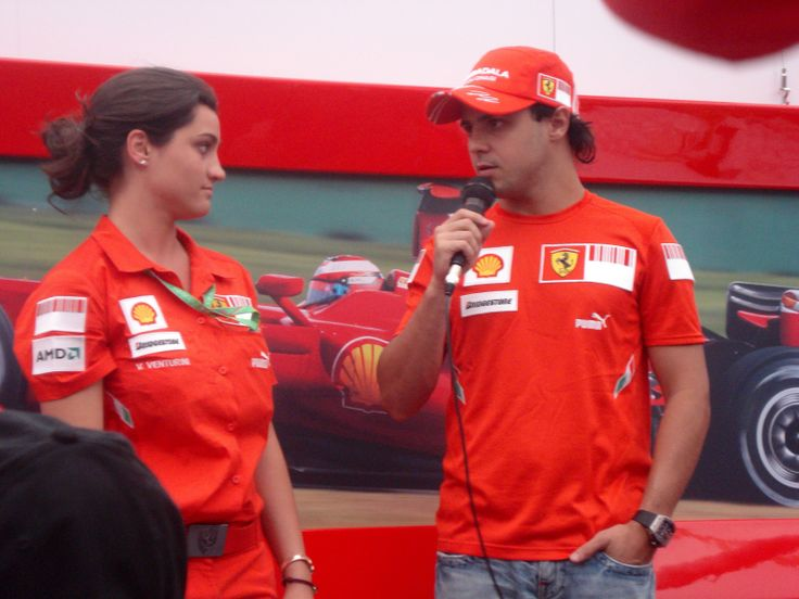 Interview with Massa in Ferrari Hospitality Lounge