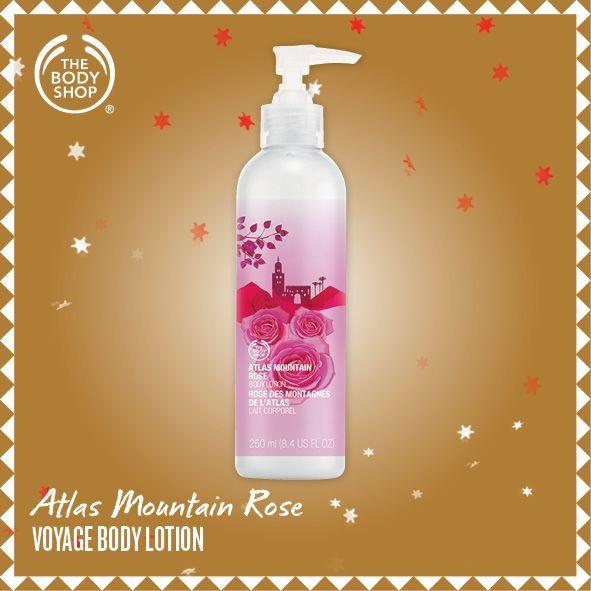 Atlas Mountain Rose Body Lotion