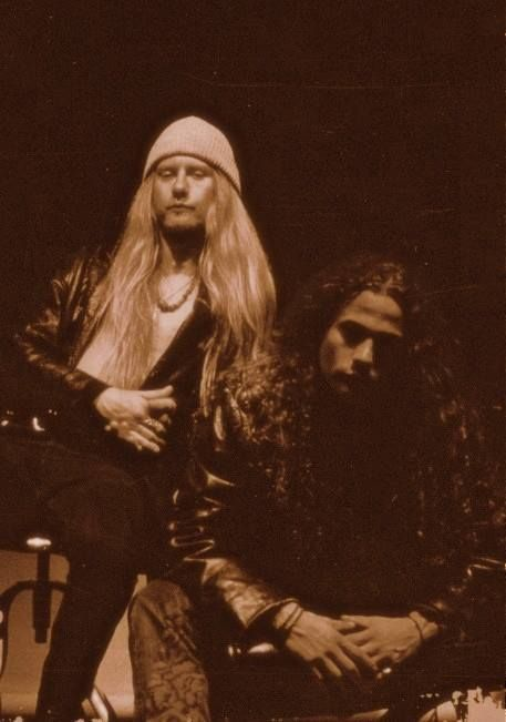Jerry Cantrell and Mike Starr, Alice In Chains