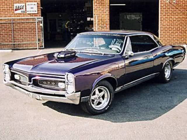 67 Gto It Was Called Mauve Pink, Not Just Pink Lol -3853