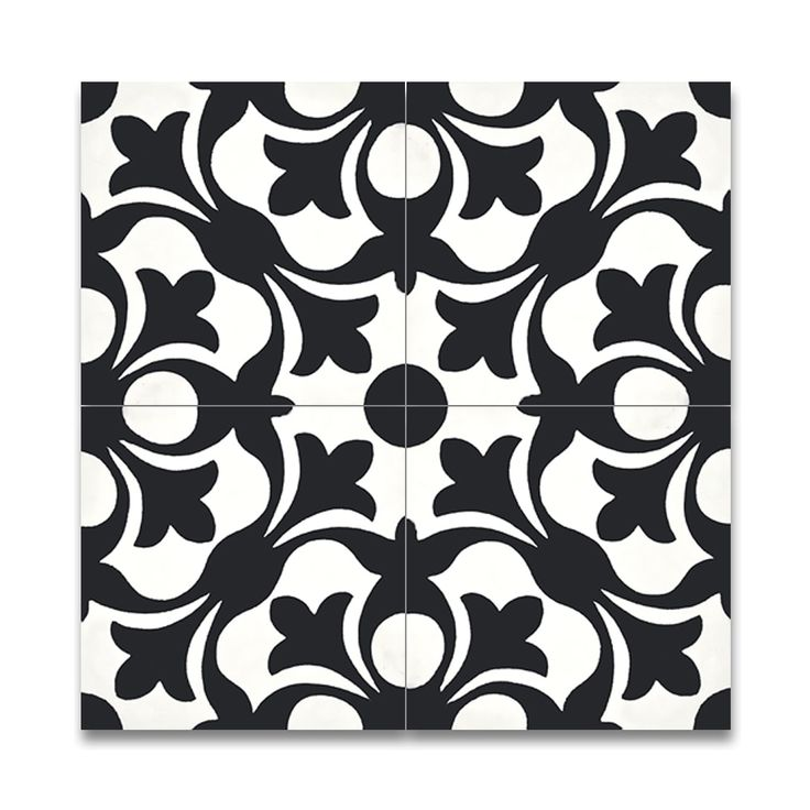 Mosaic Sefrou and White Handmade Moroccan Tiles
