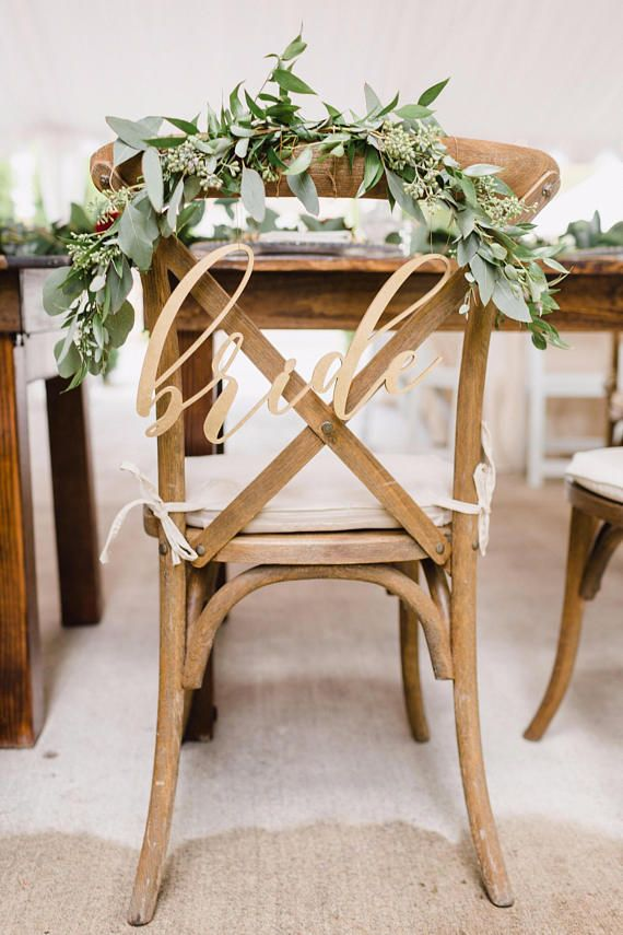 Mr And Mrs Chair Signs Oslo Posture Nz Wood Cut Bride Groom Laser