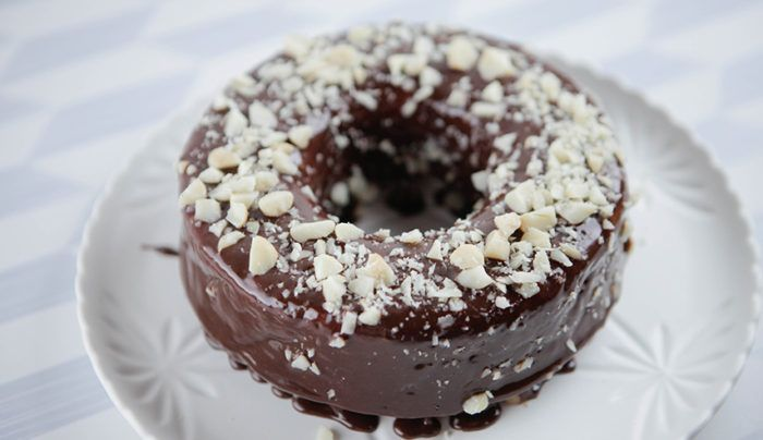 Baked Apple Donut | Good Chef Bad Chef