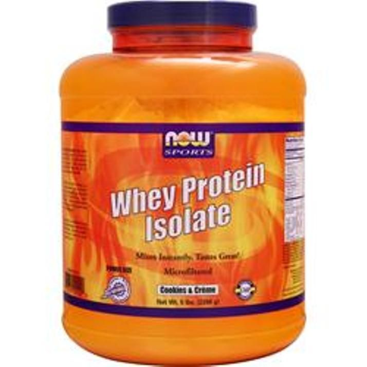Now Whey Protein Isolate Natural 5 lbs  #Now