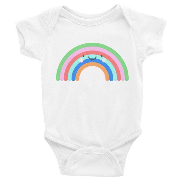 Kawaii Rainbow Onesie | so sweet!!