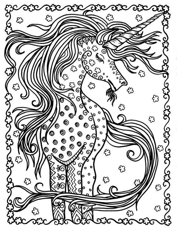 Free Download Unicorn Coloring Page Unicorn Coloring Pages Coloring Pages Blank Coloring Pages