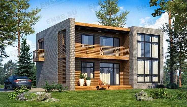 дом с отделкой планкеном
