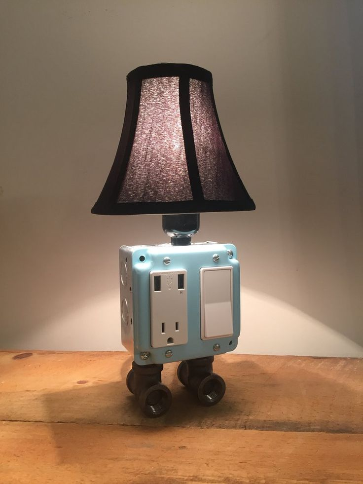 1000 Images About Usb Charger Lamps On Pinterest