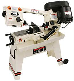 Jet Tools is very good at providing tools with exceptional quality, durability and accuracy in cuts. The Jet Tool line of horizontal metal cutting band saws is very extensive and should meet the needs of almost everyone. Our review here will present the features and specifications of the 5×8 horizontal metal cutting band saw, model J-3130.