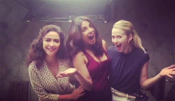 Priyanka Chopra Instagram Videos (Quantico Season 2)