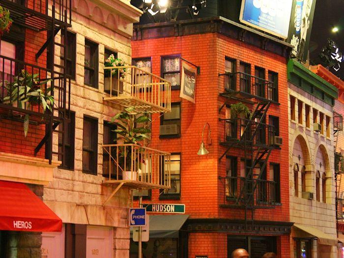 The neighborhoods of New York City inside New York New York, Las Vegas.