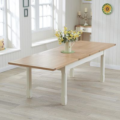 Found it at Wayfair.co.uk - £519 Sandringham Extendable Dining Table
