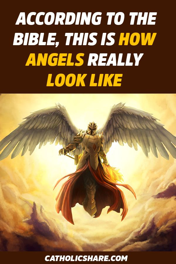 According To The Bible This Is How Angels Really Look Like