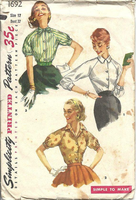 30 mejores imágenes de Patterns for sewing en Pinterest   Moda ...