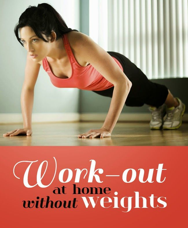 Work out at home without weights quotes