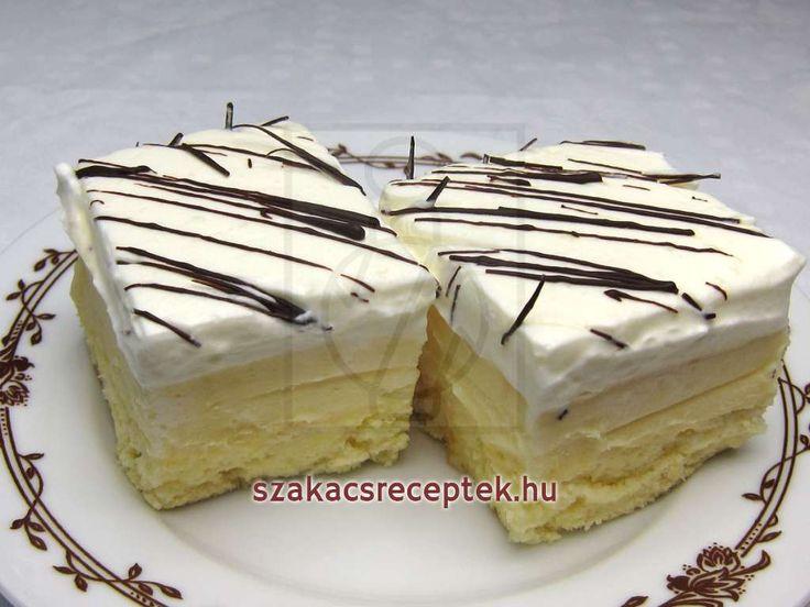 Likőrös kockák • Recept | szakacsreceptek.hu