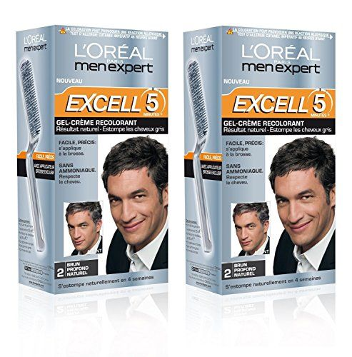 loral men expert excell 5 coloration homme sans ammoniaque brun profond naturel 2 - Keranove Coloration Sans Ammoniaque