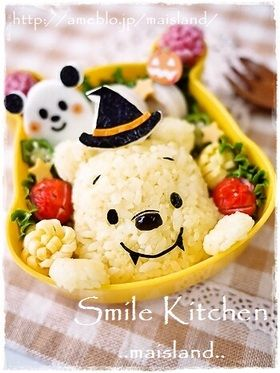 ミッキー&ミニーちゃんおにぎり*キャラ弁 - 簡単に作れるミッキーマウス&ミニーマウス♪ | キャラ弁まにあ - キャラ弁レシピや作り方を検索&投稿