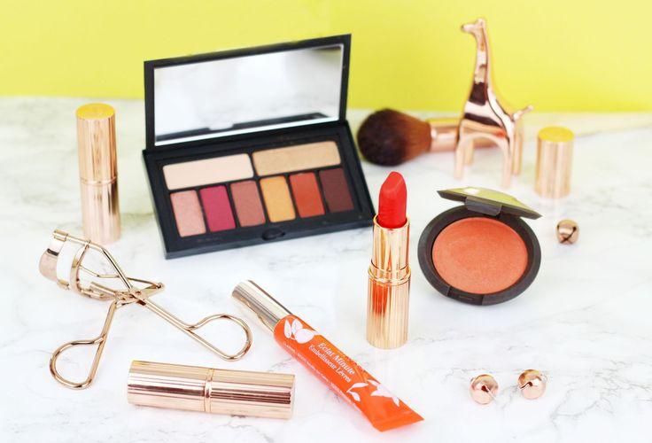 Orange makeup picks for summer including blusher, lipstick and shadow https://link.crwd.fr/3oW