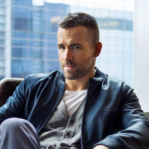 Ryan Reynolds Short Haircut