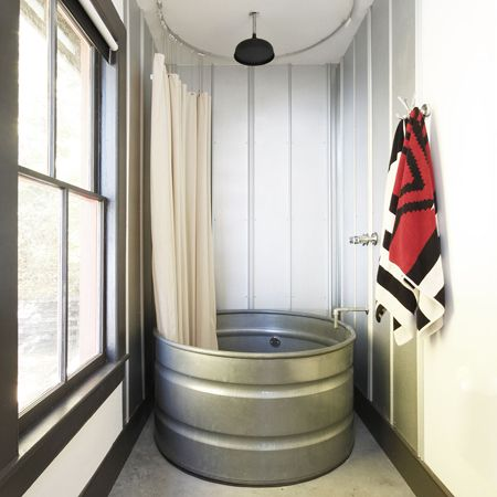 Trough Bathtub : Contemplating a trough tub vs. shower stall Bathroom Pinterest ...