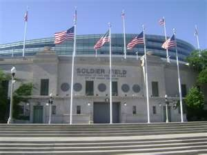 Soldier Field Chicago!  My heart belongs to the Chicago Bears.....Go Bears Go!!!