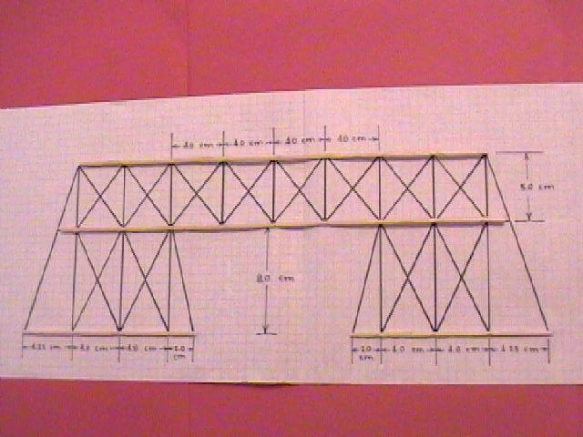 Balsa Wood Bridges By Ceres Software Corporation Wood Bridge Bridge Design Ceres