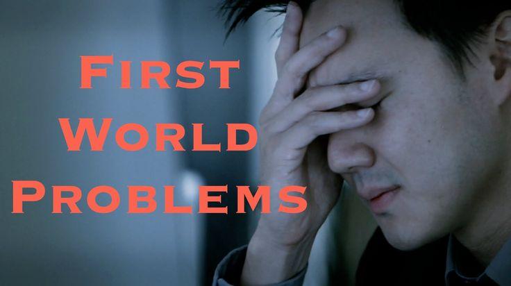 First World Problems #hypercoaching #coaching #hyperliving  #training #seminar #sellingwww.brunomedicina.com