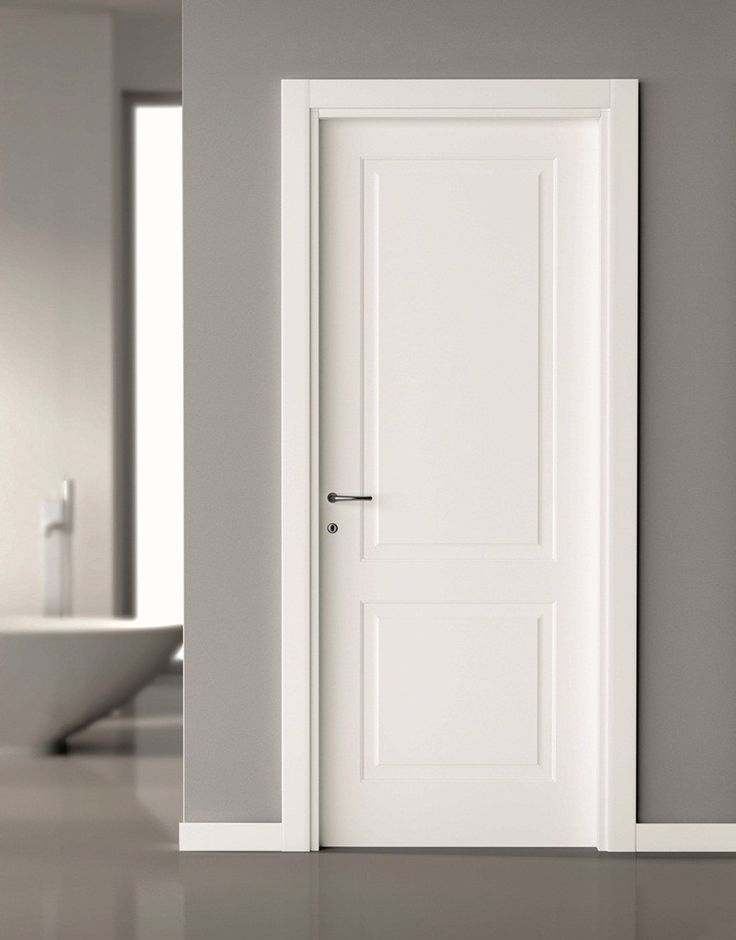 2 Panel Interior Door