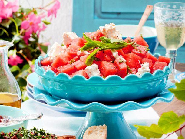 Melonen-Feta-Salat Rezept F7262203