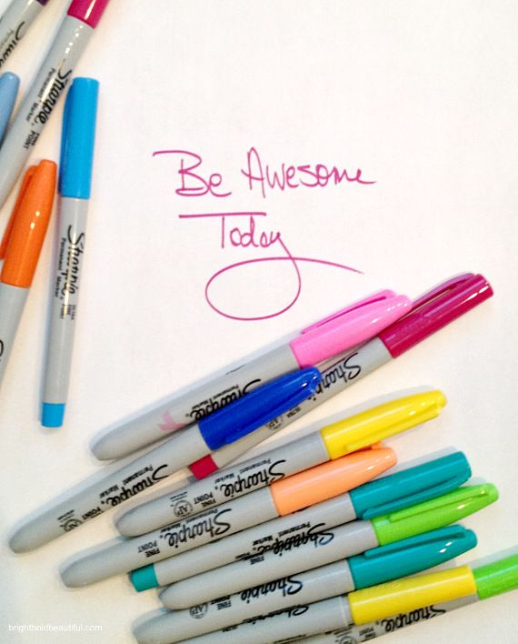 monday inspiration quote  From Bright Bold and beautiful