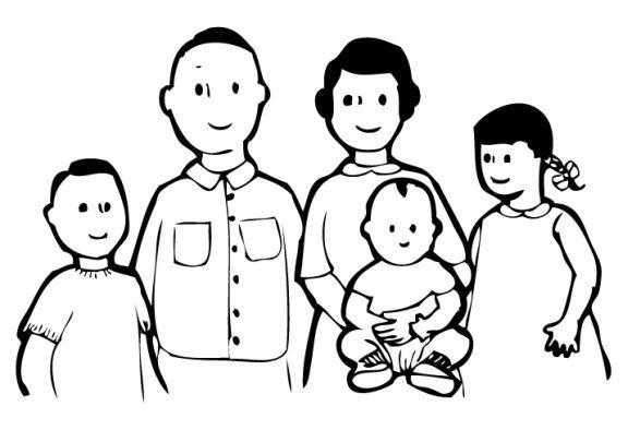 Family Picture Clip Art Black And White Clip Art Black And White Family Clipart Black And White Clipart Black And White