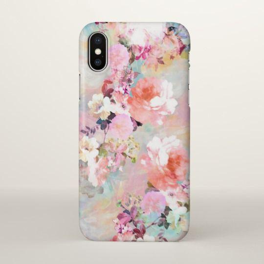 iphone x case floral